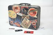 Harley Lunch Box + Old Popcorn Collectibles Vintage Harley-davidson Wow Eps22363
