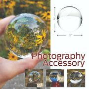 100 Crystal Ball Sphere For Photography With Microfiber Cleaning Cloth
