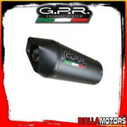Kit Exhaust Gpr Ducati Monster 750 750cc 1996-2000 Approved Furore Carbon Oval D