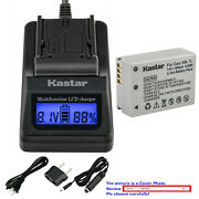 Kastar Battery Lcd Fast Charger For Canon Nb-7lh Cb-2lz Canon Powershot G10is