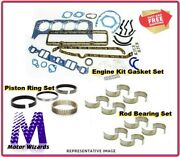 Chevy P60 350 M Code 5.7l 1986-88 - Engine Re-ring Kit - Rings+rod Brgs+gkts
