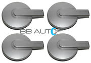 New 2006-2010 Hummer H3 H-3 16 Wheel Hub Center Caps Set Of 4 Silver Covers