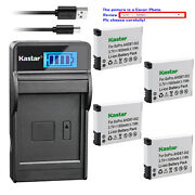 Kastar Battery Lcd Charger For Ahdbt-001 002 Gopro Hd Hero2 Motorsports Edition