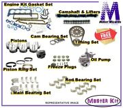 Chevy Camaro Firebird Vin G 5.7 Ls1 2001 Engine Master Kit Timing+op+pistons+cam