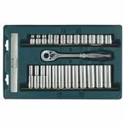 Signet 25 Piece 3/8in Drive Standard And Deep Socket Set 6 Point Metric 8 - 19mm