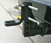 5000lbs Adjustable Ball Mount Rv Truck Car Trailer Hitch Tow 2 Receiver Towing