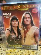 Official Hercules And Xena Yearbook 0 1998 Giant Posters Of Xena And Hercules