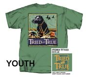 Southern Strut Tried And True Black Lab And Decoy Ducks Youth Short Sleeve T-shirt