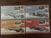 Melbourne 2017 Stamp Show Holden Limited Edition Full Set Day 1 2 3 4 Pnc