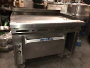 Imperial Ihr-g48andnbsp48 Range W/ 48 Griddle Standard Oven And Cabinet Features