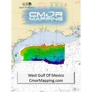 Cmor Mapping W Gulf Of Mexico For Simrad/lowrance/mercury Wgom001s