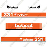 Bobcat 331 Mini Excavator Decals 1990and039s Ingersoll Rand Melroe Version