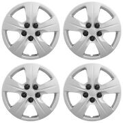 4 15 Bolt On Wheel Covers Hub Caps For 2016-2018 Chevy Cruze L Ls Steel Rims