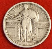 1917-p T1 Standing Liberty Quarter 90 Silver Collector Coin Gift Sl262