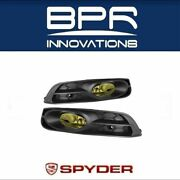 Spyder Auto Oem Yellow Fog Lights W/switch Fits 12-13 Civic 2dr/coupe - 5070449