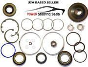 Power Steering Rack And Pinion Seal Kit Fits Cadillac Srx W/variable 2011-2015