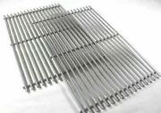 Bbq Grill Weber Grill 2 Piece Stainless Steel Grates 19-1/2 X 25-1/2 Bcp7528 O