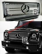 Grille Complete For Mercedes G-class G63 65 W463 Amg Style