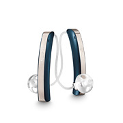 Pair Of Signia Styletto Connect Rechargeable Hearing Aids + Charger 3 Colours