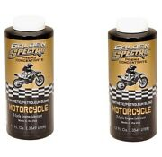 Golden Spectro 2-cycle Semi-synthetic Pre-mix Motorcycle Oil - 12 Oz - 2 Pack