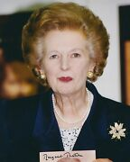 Margaret Thatcher Signed 8x10 Photo - Uacc And Aftal Rd Prime Minister Autograph