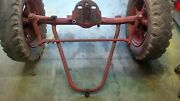 Farmall W9 Tractor - Wide Front End