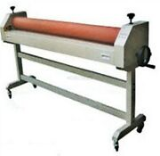 Roll Laminating Machine Cold Laminator 63and039and039 Manual Roller Desktop New Ix