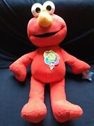 Large Plush Special Edition Happy Birthday Sesame Street 35 Years Elmo 29 Inches