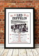Led Zeppelin   British Rock Band Concert Gig Tour Posters   13 To Choose From.