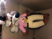 1971 Vintage Warner Bros By Mighty Star Wile E Coyote Cowboy Plush Doll