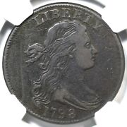 1798 S-159 R-3 Ngc Vf 30 Small 8 Draped Bust Large Cent Coin 1c