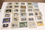 Lot Collection Real Photo And Litho Postcard Style Souvenirs 1940's Usa Travel