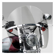 N.cycles Switchblade Chopped Windshield Tinted For Harley Davidson Xl, Fxd