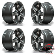 Set Of 4 Mercedes E300 Amg 2017-2019 18 Factory Oem Non Staggered Wheels Rims