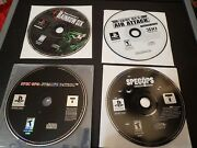 Playstation 1 Ps1 Rainbow Six Spec Ops Army Men Air Attack Lot Of 4 Games