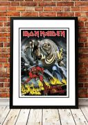 Iron Maiden | Classic British Rock Band Concert Posters | 15 To Choose From.