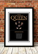 Queen | British Rock Band Concert Tour Gig Posters | 11 To Choose From