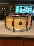 Very Rare 1940and039s Gretsch Snare Drum Great Condition