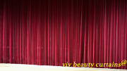 Theater/stage Red-v Vintage Classic Velvet Curtain Drape 12ft H Sound Proof