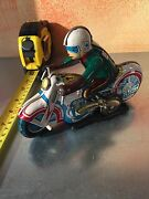Motorcycle Tin Toy Made In China Very Old Style