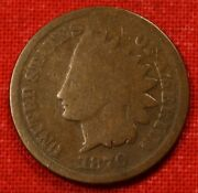 1870 Indian Head Cent Penny Full Rim G Coin Gift Check Out Store Ih489