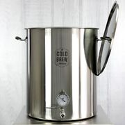 Stainless Steel Cold Brew Coffee System - 50 Gallon