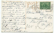 1915 American Artist Clara Mcchesney Signed Postcard From The Pan Pacific Expo