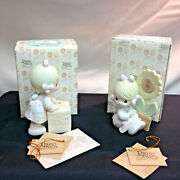 2 Precious Moments Figurines-sharing Is Universal A Growing Love