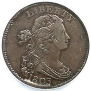 1803 S-263 R-3 Ncs Xf Details Sm Date Sm Frac Draped Bust Large Cent Coin 1c