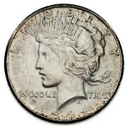 1924-s 1 Silver Peace Dollar In Unc Condition Nice Coin