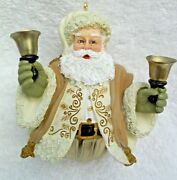 Hallmark Keepsake Bell Ornament Jolly Old Kris Jingle Dated 2004 In Box Chrismas