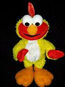 Chicken Dance Elmo Sesame Street Plush Electronic Toy Fisher Price Collectible