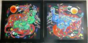 Tie Feng Jiang Freedom Suite West And East Hand Signed Yunnan Chinese Artist 铁丰机盎