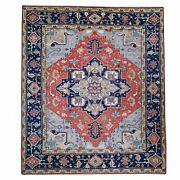 Hand-knotted Oriental Traditional Design Handmade Wool Rug 9.0x11.10 Brral-2691